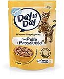 Adoc Day By Day Pollo e Prosciutto per gatti adulti, confezione da 24 pezzi