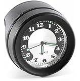 "Lenkeruhr 1-1/4"" 32mm Metall Schwarz Big Motorrad Uhr großes Ziffernblatt Custom Harley-Davidson"