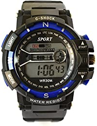 VITREND™ C-Shock Water Resist-Cold Back Light-Stander Display -002-Sports Digital Watches For Men And Women(Random...