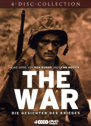 Ken Burns - The War: Die Gesichter des Krieges (4 DVDs, Bookpak)