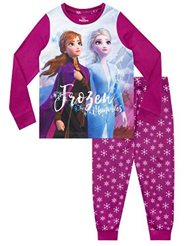 Disney Pijamas Manga Larga niñas Frozen
