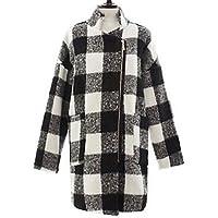 GS~LY controllo slim fit cappotto di tweed delle donne Kyl , screen color , l