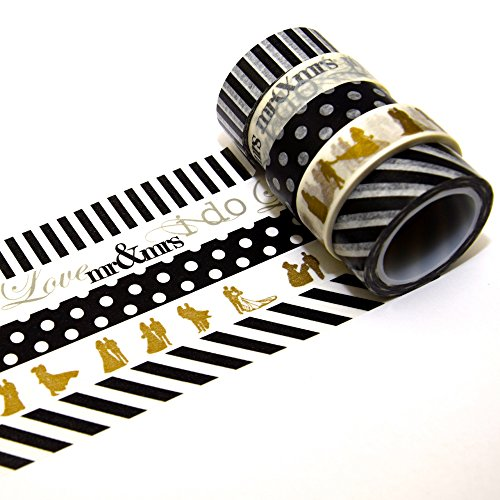 Wedding Washi Tape | 5er Set