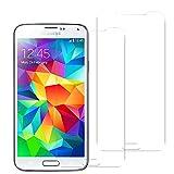 Mopiss Pack de 2 Film de Protection en Verre trempé pour Samsung Galaxy S5/S5 New