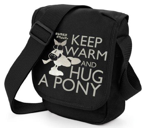 funky-fillyr-ragazza-pony-keep-warm-and-hug-a-pony-piccola-borsa-a-tracolla-nera-con-spallina-lunga-