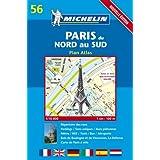 Plan de ville : Paris du nord au Sud, numéro 56