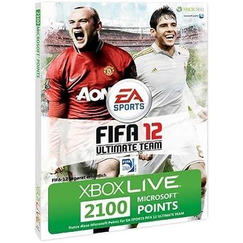 Xbox Live - Card 2100 Punti per FIFA 12 [Edizione: Germania]