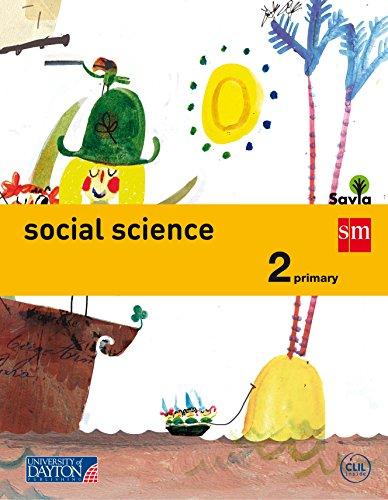 Portada del libro Social science. 2 Primary. Savia - 9788415743675