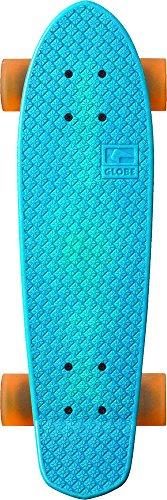 Globe Skateboard Bantam Retro Rippers, Horizon/Raw/Clear Amber, One size, 10525115