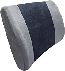 Orthowala ™ - Lower Backrest Comfort Cushion office chair back support- on chair & sofa car etc
