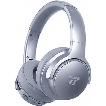 ab0555aa27d Noise Cancelling Headphones, TaoTronics Bluetooth Headphones, Wireless Over  Ear Headset with 30 Hour Playtime (Deep Bass, ANC Wireless Headphones CVC  6.0 ...
