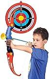 New Plast ax1915–Kid Juego arquero con flechas y diana