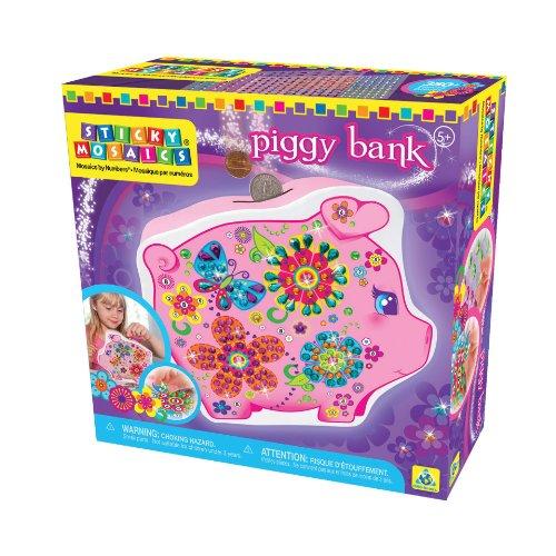 Orb Factory 620514 - Sticky Mosaics Piggy Bank -
