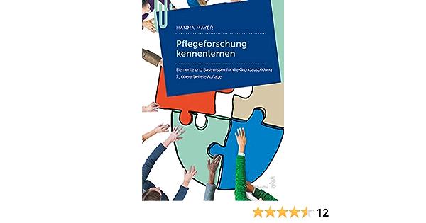 socialnet Rezensionen: Hanna Mayer: Pflegeforschung kennenlernen   ppe-netzwerktechnik.de