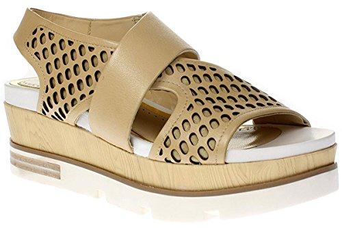 Bruno Premi VITELLO - Damen Sandalette Pantolette - 3901X Natur