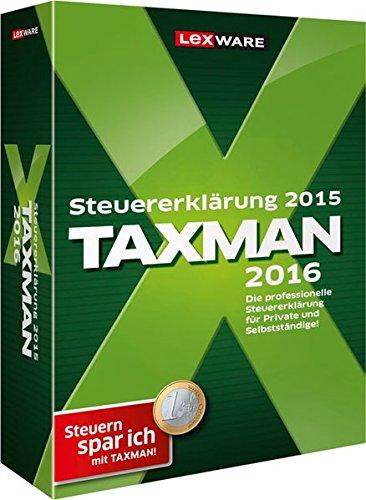 Preisvergleich Produktbild TAXMAN 2016 (für Steuerjahr 2015)