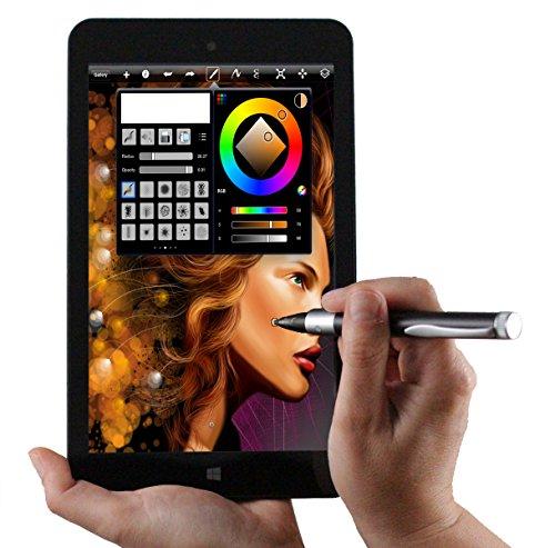 Navitech Bookstyle Case Stylet Gris HP ElitePad