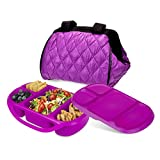 Best Smart Planet Lunch Boxes - Smart Planet Portion Perfect Puffer Bag Set, Berry Review