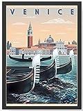 Venedig Venice Gondel Kunstdruck Poster -ungerahmt- Bild