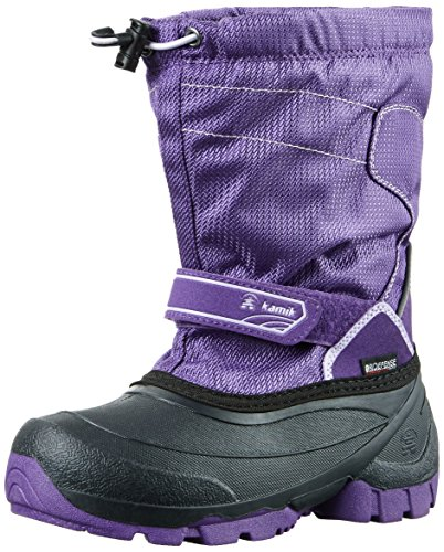 Kamik Snowcoast, Bottes mi-hauteur avec doublure chaude mixte enfant Violet - Violett (PUR-Purple)