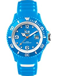 Ice-Watch - ICE sunshine Neon blue - Blaue Damenuhr mit Silikonarmband - 013791 (Small)