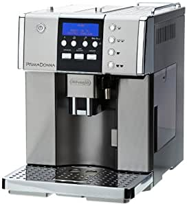 De'Longhi Prima Donna Fully Automatic Bean to Cup Espresso/Cappuccino Machine ESAM6620, 15 Bar - Stainless Steel