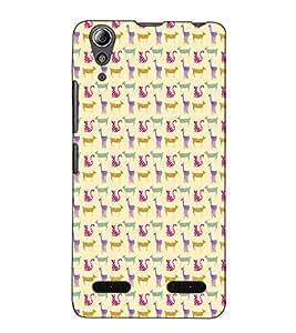 Fuson Designer Back Case Cover for Lenovo A6000 Plus :: Lenovo A6000+ :: Lenovo A6000 (Animal pattern theme)