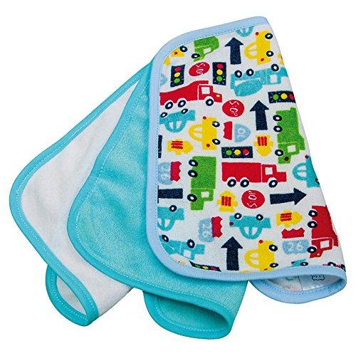Rotho Babydesign 20434 0011 01 Waschtuecher 3er Set, mehrfarbig