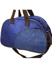 Real Diamond Bags Blue Unisex Travel Duffle/Duffle Bag/Travel Bag/Weekender Bag/Travelling Bag.
