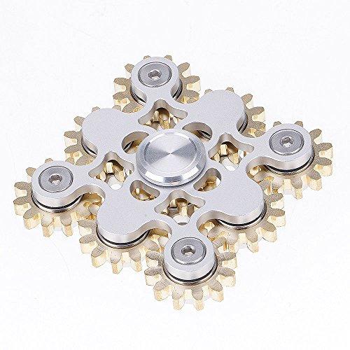 finger-spinner-9-bearing-gear-linkage-rotate-top-level-copper-fidget-hand-spinner-torqbar-finger-toy