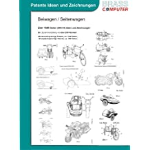 Beiwagen / Seitenwagen, ca. 1850 Seiten (DIN A4) Ideen und Zeichnungen