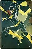 Batgirl Hero Heldin Batman Comic Figur 20x30 cm Blechschild 1619