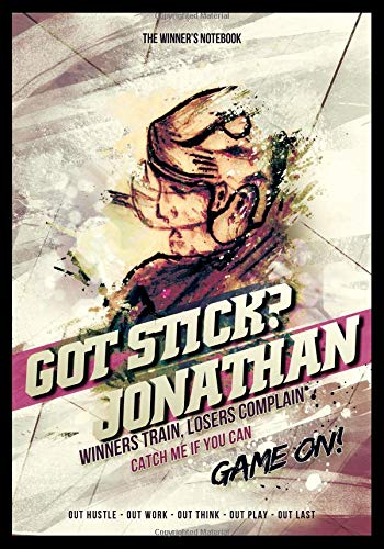 Got Stick?  Jonathan:  Winners Train, Losers Complain: The Winner's Notebook (Inspirational Hockey) por Lemieux Gretzky