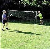 Outdoor bambini giocare divertimento badminton & tennis Garden pratica netto set