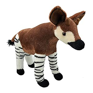 Wild Planet- All About Nature-31cm Okapi-Hecho a Mano, Peluche Realistico,, 31 cm (K8379)