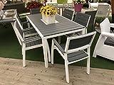 immagine prodotto Set tavolo e 6 poltrone HARMONY in resina KETER con stampo finto legno