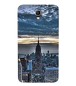 FUSON New York City Skyline 3D Hard Polycarbonate Designer Back Case Cover for Samsung Galaxy Note 3 Neo :: Samsung Galaxy Note 3 Neo Duos :: Samsung Galaxy Note 3 Neo 3G N750 :: Samsung Galaxy Note 3 Neo Lte+ N7505 :: Samsung Galaxy Note 3 Neo Dual Sim N7502
