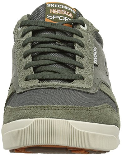 Skechers nbsp;Exquisite Ascoli Ascoli Herren nbsp;Exquisite Sneakers Skechers Gr眉n Makes Herren OLOR Makes 4WpxZZ