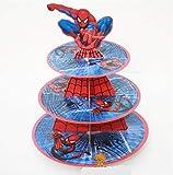 Astra Gourmet Super Hero Carton support à cupcake Dessert Tour, Spiderman
