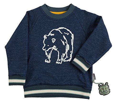 Sigikid Jungen Sweatshirt Mini, Blau (Dark Blue 200), 122 Mini Herren Sweatshirt