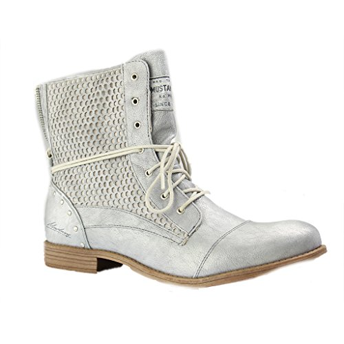 Mustang 1157-542-203, Bottes Classiques Femme Silber