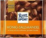 Ritter Sport Nuss Klasse Honig-Salz-Mandel, (1 x 100 g)