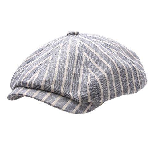 stetson-cappellino-piatto-uomo-hatteras-linen-stripe-size-m