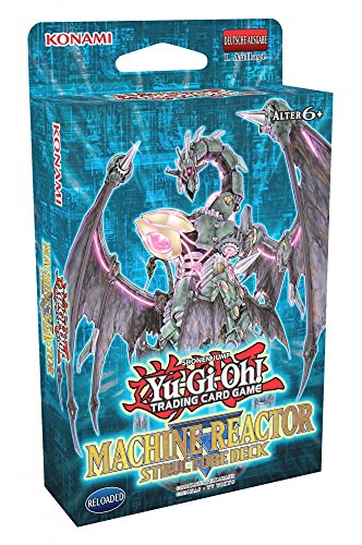 Yugioh Machine Reactor Structure Deck Deutsch - Deck Structure Machina Yugioh