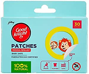 Good Knight Patches (30 Patches)