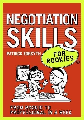 Negotiation Skills for Rookies by Patrick Forsyth (2009-08-27) par Patrick Forsyth