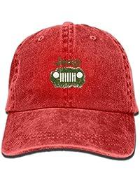 Wfispiy Jeep Logo Unisex Baseball Cap Trucker Hat Adult Cowboy Hat Hip Hop Snapback ABCDE13665