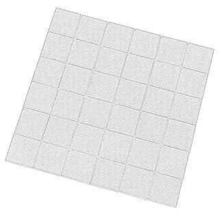 Brave Earth Mosaikmatte - teilpoliert, 4,7x4,7cm, Feinsteinzeug Steinoptik (Mosaik)