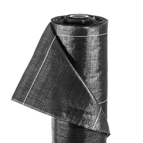 Haga® Bandelettes de tissu 4 m BR. 100 g/m² Terram Film de paillage (au mètre)