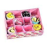 #6: All in one New Foldable bra storage box / tie organiser / cloth storage box / organiser by Stvin